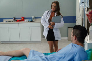 Big-titted Medic Adventures Abigail Mac pound in the..