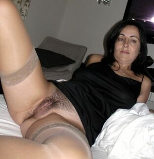Fifty-year-old twigs, lace and stockings, nylon and old puss