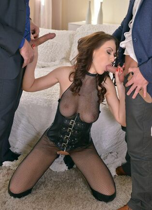 Trouble-free mega-bitch Tina Kay in first-ever