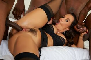 Multiracial gang-fucked big-boobed Cougar from EvilAngel