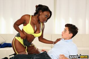 true porking lessons with the dark-hued stepmom Osa..