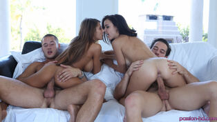 Pretty ginormous titted  Madison Ivy and Dillion Harper in..